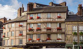 Typická architektura Honfleuru
