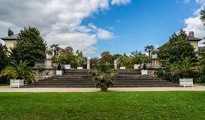 Botanická zahrada je součástí Bouloňského lesíku