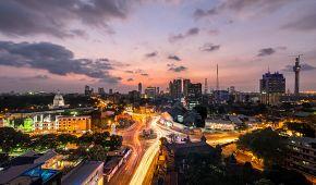 Rozloučení se Srí Lankou ve městě Kolombo