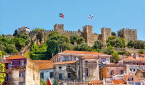 Z hradu svatého Jiří je krásná vyhlídka na město