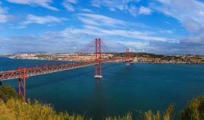 Most 25. dubna v Lisabonu