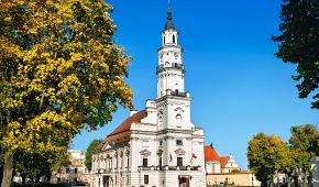 Historická budova radnice v Kaunasu