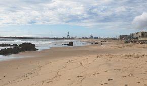 Pláž Matosinhos láká k odpočinku