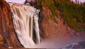 Majestátní vodopády Montmorency