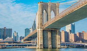 Brooklynský most je jedním ze symbolů města