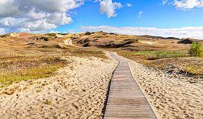 Písečné duny Kurské kosy