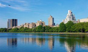 Pohled na Manhattan z Central Parku