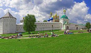Srdce ruské pravoslavné církve - klášterní městečko Sergijev Posad