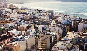 Pohled na město Las Palmas