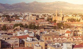 Pohled na tureckou část hlavního města