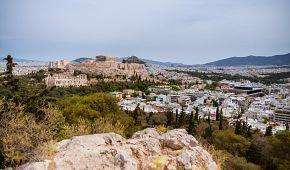 Jedinečný pohled na Akropolis