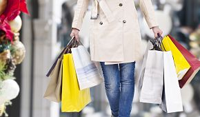 nákupy přes Vánoce
