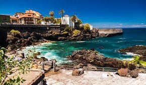 Malebné městečko Puerto de la Cruz