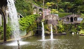 Tropická zahrada ve Funchalu