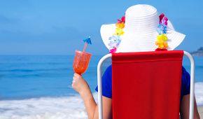 Zasloužený odpočinek na pláži