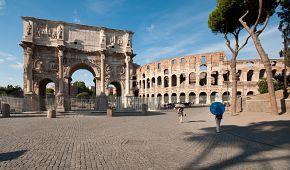 Okolí kolem Kolosea a Konstantinova oblouku