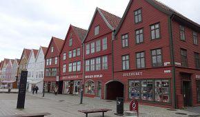Dřevěné hanzovní domy v Bergenu