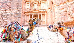 Růžové skalní město Petra