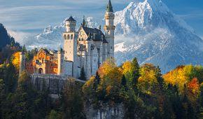 Zámek Neuschwanstein a jeho nádherné okolí