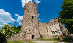 Ruiny hradu v Kaysersbergu