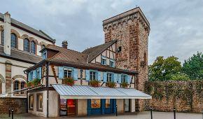 Opevnění a hradby ve městě Obernai