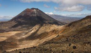 Mount Ngauruhoe alias Hora osudu v NP Tongariro