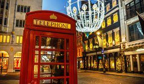 Sváteční atmosféra londýnských ulic