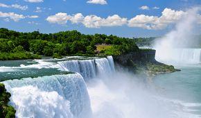Úchvatné Niagárské vodopády