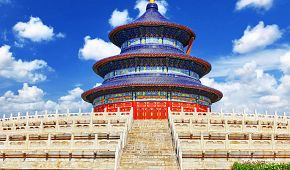 Chrám nebes, jeden ze symbolů Pekingu