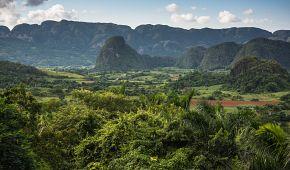 Tabáková plantáže u Pinar del Rio