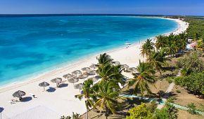 Pláž v Karibiku Playa Ancón
