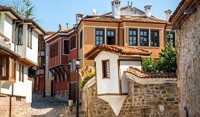 Staré uličky v Plovdivu