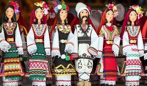 Typické bulharské panenky