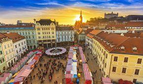 Vánoční trhy v Bratislavě