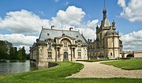 Kouzelný zámek Chantilly