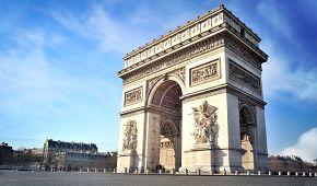 Dominanta Paříže Vítězný oblouk