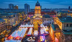 Adventní Berlín s vánočními trhy.