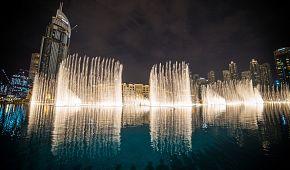 Světelná show Dubajské fontány
