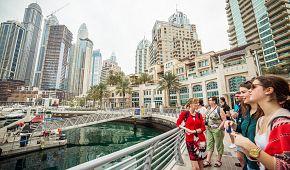 Zajímavosti o čtvrti Dubai Marina z první ruky od průvodkyně Jany