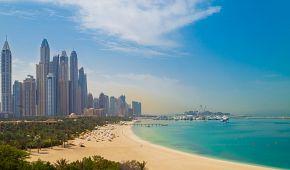Pravá plážová exotika ve vlnách Perského zálivu