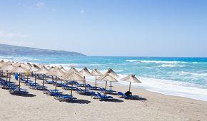 Athénská pláž Kalamaki