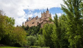 Pevnost Alcázar v Segovii
