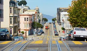Zvlněné ulice San Francisca