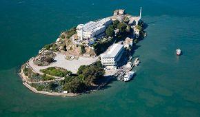 Vězení Alcatraz u San Francisca