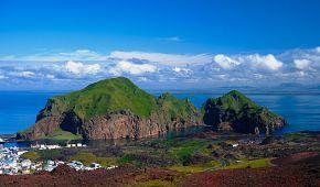 Vulkanický ostrov Heimaey