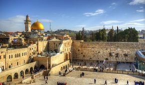 Staré město se Zdí nářků v Jeruzalémě