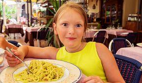 Italské těstoviny si děti zamilují