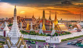 Velký palác a Wat Phra Keao v Bangkoku
