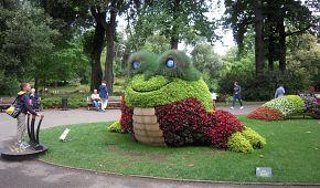 Venkovní hravé expozice v Jardin des plantes