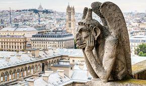 Tajemné chrliče střeží katedrálu Notre Dame